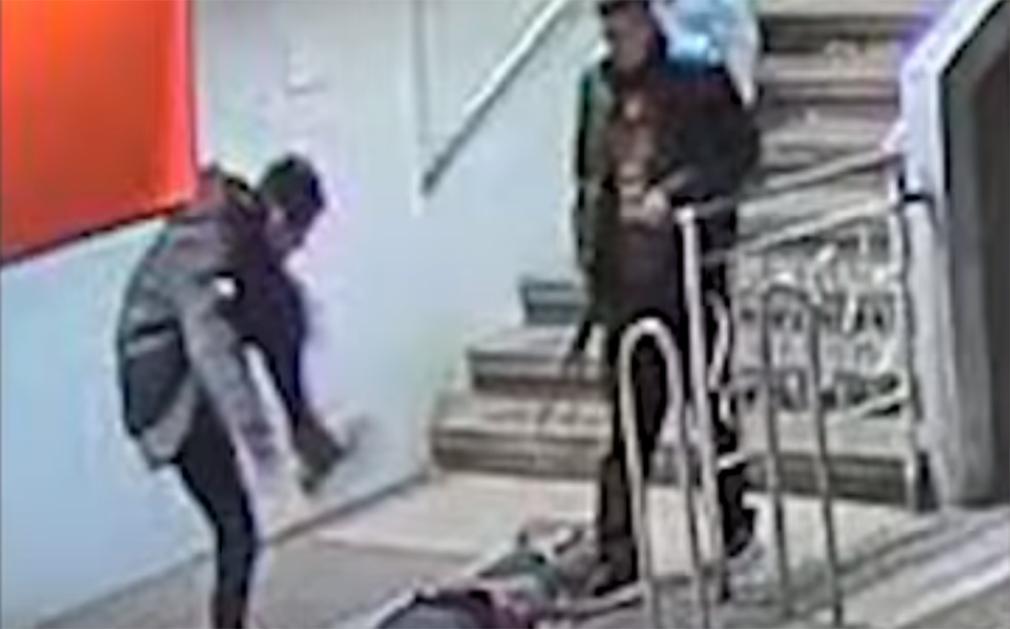 Joven detenido tras propinar una brutal paliza a un joven en el metro de Barcelona