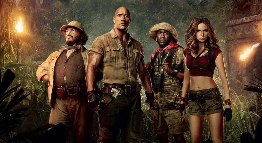 La secuela 'Jumanji 2' pasa de los 500 millones de dólares en la taquilla mundial