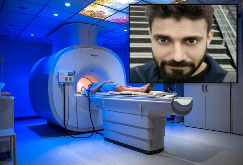 Lo absorbió una máquina de resonancia magnética y murió