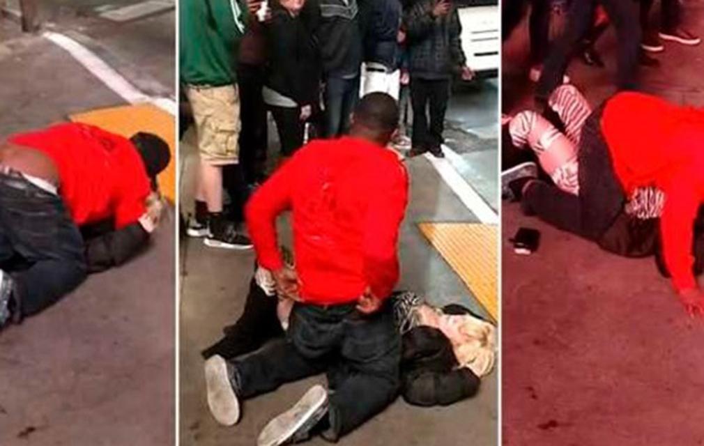 Hombre abusa de una joven ebria en Las Vegas; nadie le ayuda