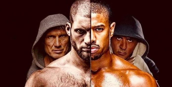 Póster con Ivan Drago Jr. en la secuela 'Creed 2'
