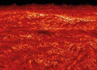 Se rompe el misterio de cómo las ondas magnéticas calientan el sol