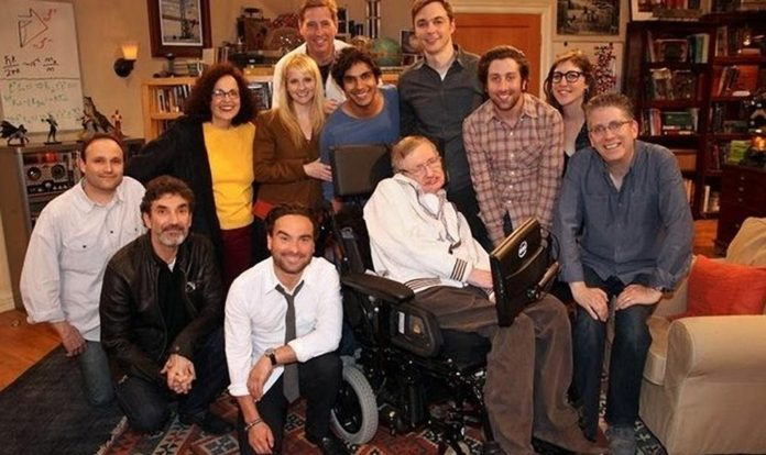 La serie 'The Big Bang Theory' rendirá homenaje a Stephen Hawking
