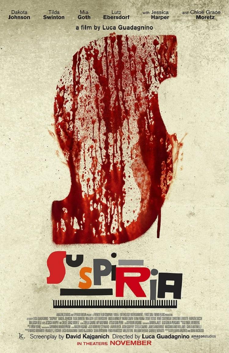 Teaser tráiler remake de 'Suspiria'