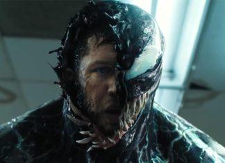 Tom Hardy com el simbionte Eddie Brock / Venom.