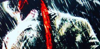 Sylvester Stallone en un póster de John Rambo