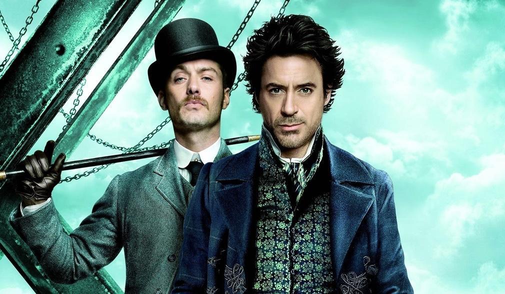 Jude Law y Robert Downey Jr. como Sherlock Holmes y el Doctor Watson