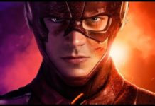 El actor Gran Gustin como The Flash