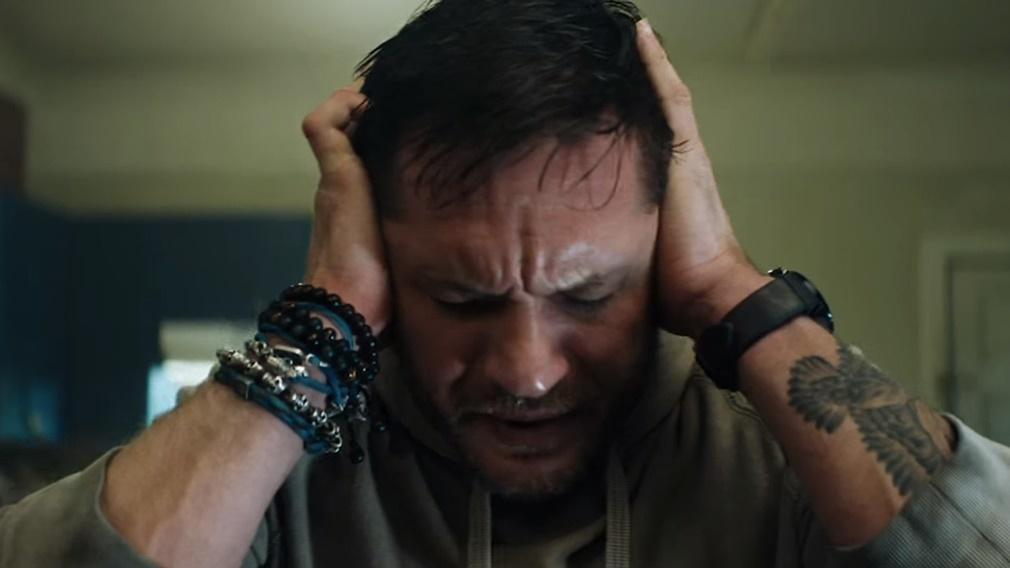 Eddie Brock interpretado por Tom Hardy