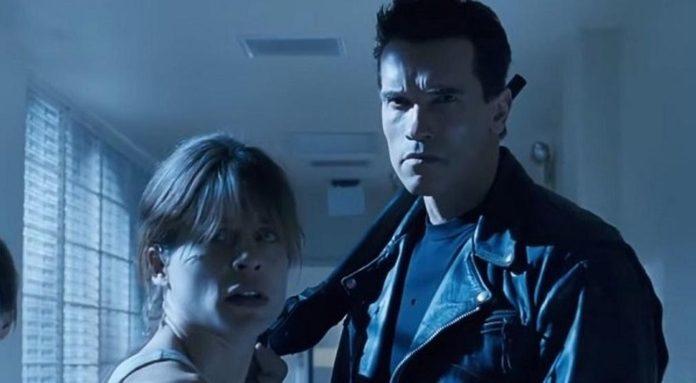 Arnold Schwarzenegger y Linda Hamilton se reúnen en foto del rodaje de 'Terminator 6'