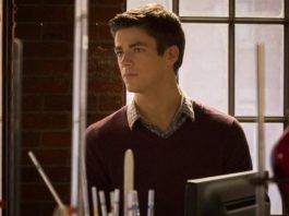 Barry Allen en el laboratorio