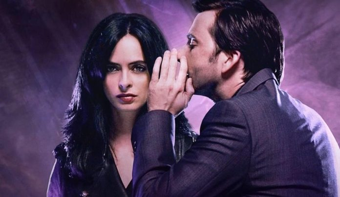 El villano Kilgrave y Jessica Jones