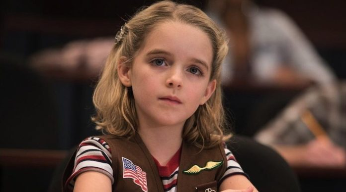 La joven actriz McKenna Grace