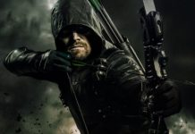 Stephen Amell como Flecha Verde