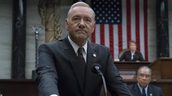 Kevin Spacey como Frank Underwood