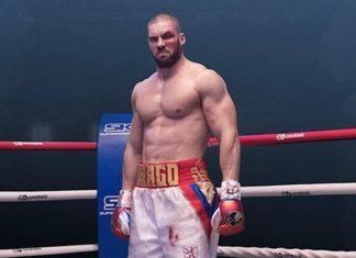 El boxeador y actor Florian Munteanu como Viktor Drago