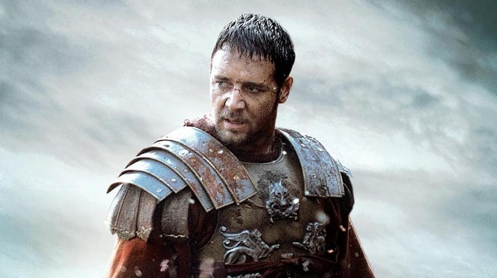 Russell Crowe en Gladiator (2000)