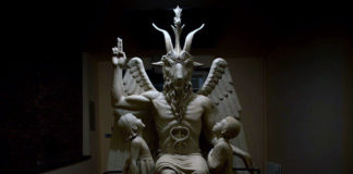 estatua baphomet