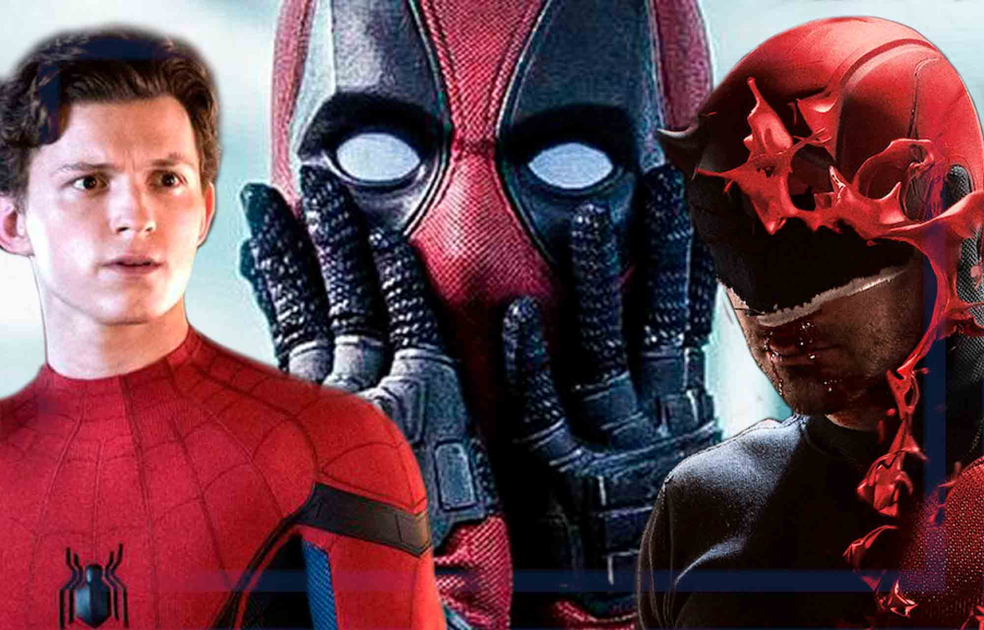 ¿Deadpool (Ryan Reynolds), Spider-Man (Tom Holland) y Daredevil (Charlie Cox) juntos? Marvel Studios podría hacerlo realidad